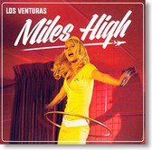 """Miles High"" surf CD by Los Venturas"