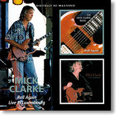 """Roll Again & Live In Luxembourg"" blues CD by Mick Clarke"