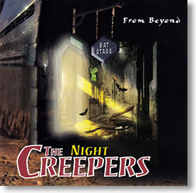 """""""From Beyond"""" surf CD by The Night Creepers"""