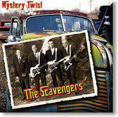 """""""Mystery Twist"""" surf CD by The Scavengers"""
