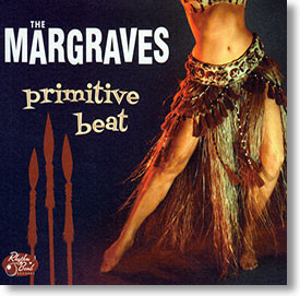"""Primitive Beat"" rockabilly CD by The Margraves"