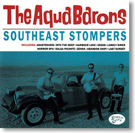 """Southeast Stompers"" surf CD by The Aqua Barons"
