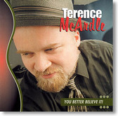 """You Better Believe It!"" blues CD by Terence McArdle"