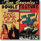 """Double Feature"" blues CD by Tino Gonzales"