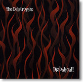 """Diabolical!"" surf CD by The Delstroyers"