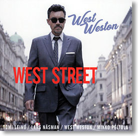 """West Street"" blues CD by West Weston"