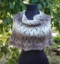 Warm Lace Cowl - Custom Knit