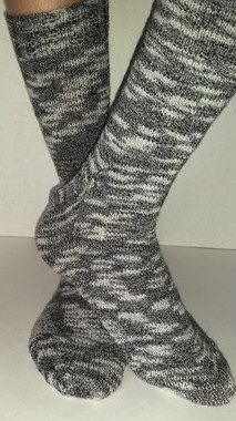 Basic Toe-Up Sock Pattern