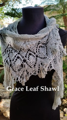 Grace Lace Shawl - Knit for You