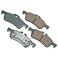 Akebono EURO Ultra-Premium Ceramic Rear Brake Pad Set