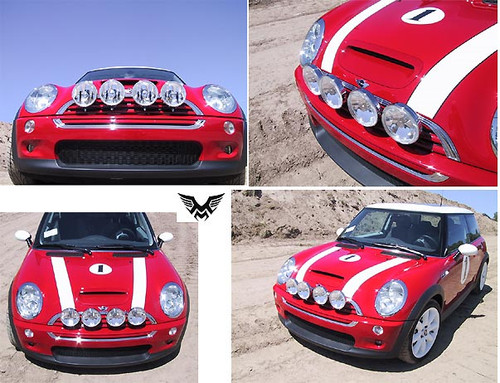 Madness 4 light rally light kit mini cooper 4 lamp rally light kit publicscrutiny Gallery