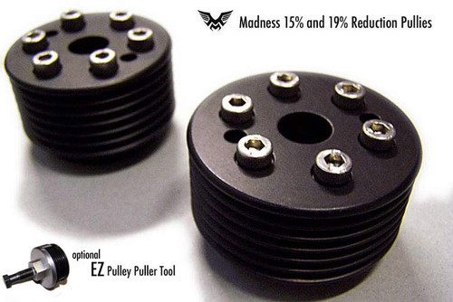 Madness MINI Cooper lightweight 15% and 19% supercharger pulley