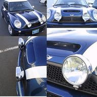 MINI Cooper 2 lamp driving lights