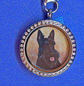 Scottie Locket Necklace