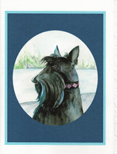 """Checking the View..."" Scottie card from Kate Wood"