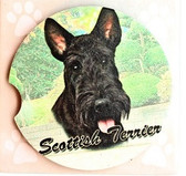 Scottie Car Coaster