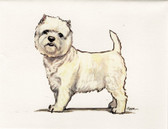 Westie Fur Children Card