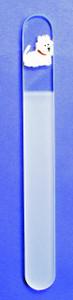 Westie Glass Foot File