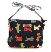 Scottie Tapestry Cross Body Purse