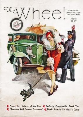 The Wheel Magazine Cover Art