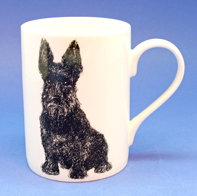 Scottie Mug - right side