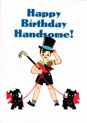 Scottie Birthday Card
