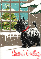 "Scottie ""Season's Greetings"" Card"