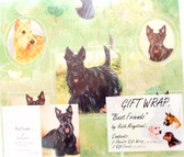 Scottie Wrapping Paper
