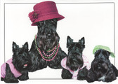 """Happy Mother's Day"" Scottie Card"
