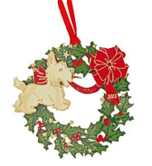 Third Annual Brass Scottie Ornament