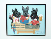 """Paws for Claws"" Scottie Lobster Feast"