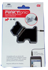 Funkyfonic Black Scottie Speaker