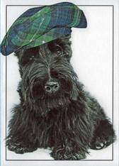 """""""Wee Scot"""" Scottie Puppy Card"""