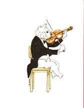 Westie K9 Orchestra Card