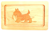 Rectangular Scottie Serving Board