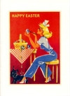 Found Image Scottie Easter Card