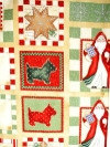 Cookie Cutter Christmas Fabric