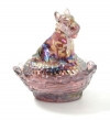 "Boyd Glass ""Siesta Carnival"" Salt"