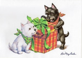 """Christmas Puppy Surprise"" Card"