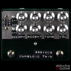 Shin's Music / Dumbloid Twin 2-Channel Overdrive Deep Green Velvet