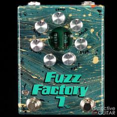 Zvex Fuzz Factory 7 Hand Painted Swirl B184