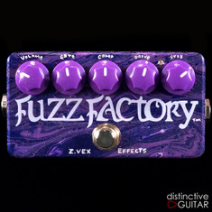 Zvex Fuzz Factory Custom One-Off Paint M108
