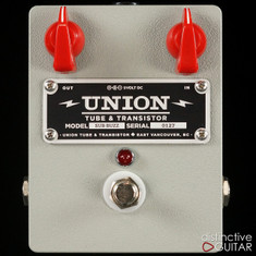 Union Tube & Transistor Sub Buzz Bass Fuzz Gray