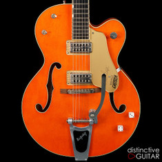 Gretsch G6120SSLVO Nashville Brian Setzer Signature Hollowbody Vintage Orange