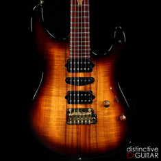 Suhr Modern Custom Curly Koa Dark Brown Burst 28584
