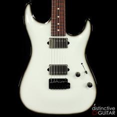 Suhr Standard Custom Carve Top Olympic White / Blackburst 28445