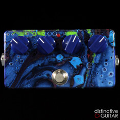 Zvex Woolly Mammoth Fuzz Custom Hand Painted S034