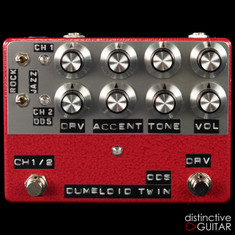 Shin's Music Dumbloid Twin Two Channel Overdrive Red Hammer