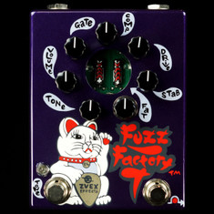 Zvex Hand Painted Fuzz Factory 7 Purple