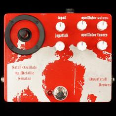 Dwarfcraft Satan Oscillate My Metallic Sonatas Oscillator Custom Etched